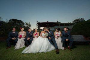 Flaxton Gardens Wedding –  Kylie and Dwayne